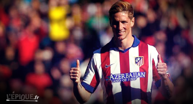 Football atl tico madrid les 40 000 supporters taient for Torres ferreira coupe de cheveux